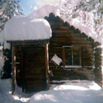 The Sauna under snow